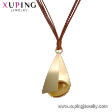 necklace-00637 xuping Imitation Jewelry 2018 latest model elegant necklace for women